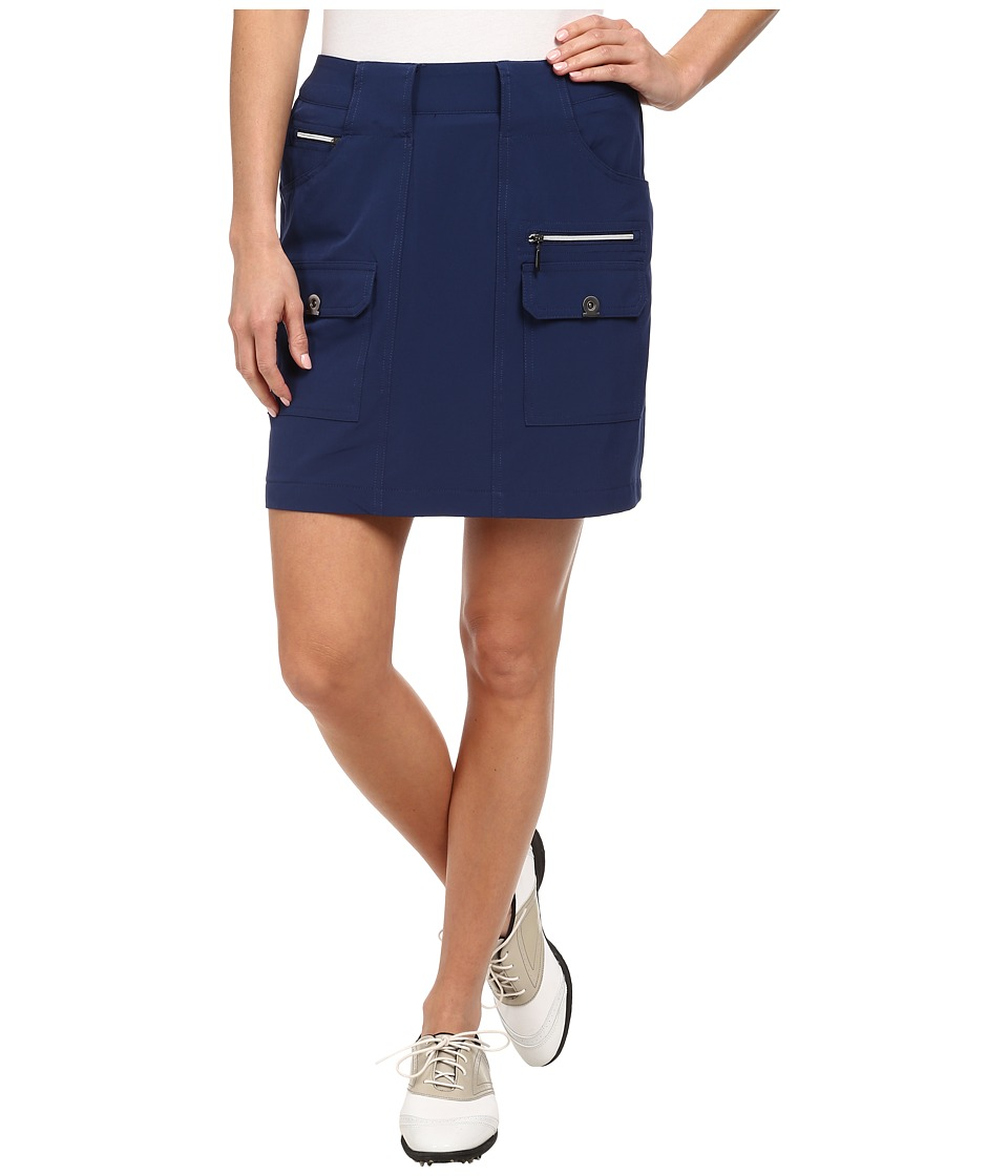 Jamie Sadock Airwear Light Weight 18 in. Skort Nocturnal Navy Blue Womens Skort
