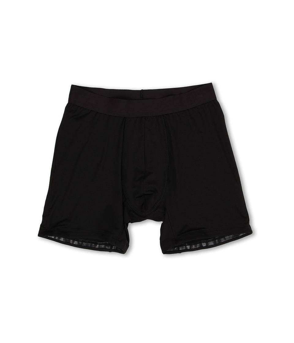 Spanx for Men Staydown Boxer Brief Black Mens Underwear