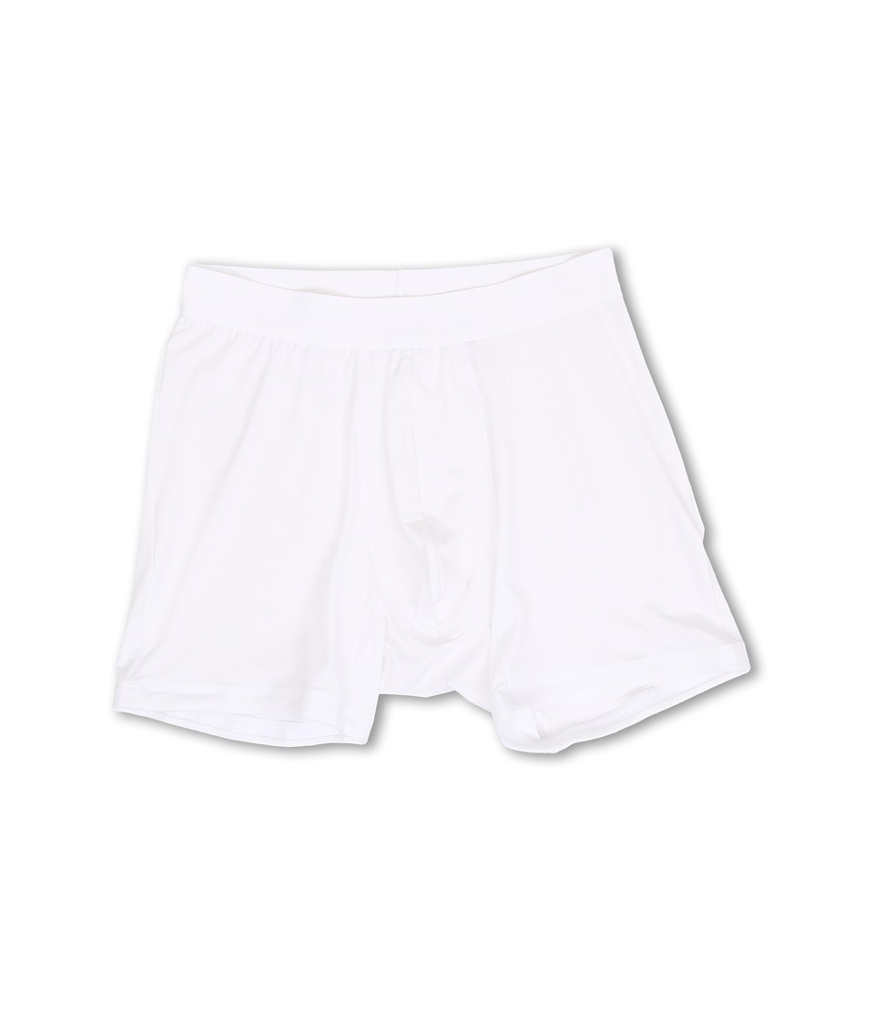 Spanx for Men Staydown Boxer Brief White Mens Underwear
