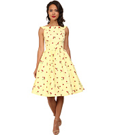 Stop Staring! - Cherry Lemon Swing Dress