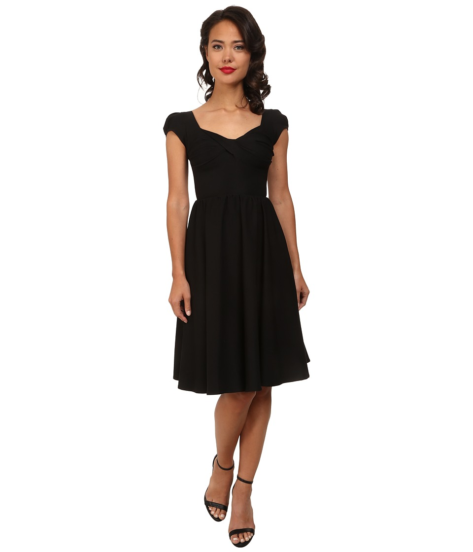 Stop Staring - Billionaire Swing Dress Black Womens Dress $213.00 AT vintagedancer.com