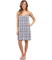P.J. Salvage - Ikat Print Slip Sleep Dress