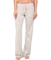 P.J. Salvage - Heather Grey/White Striped PJ Bottoms