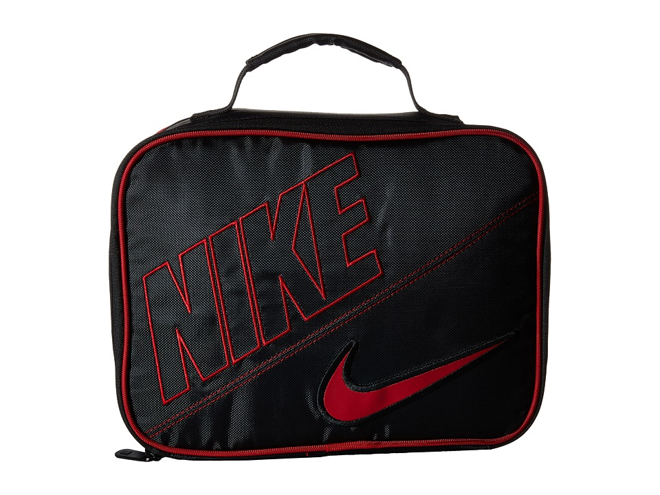 Nike Kids - Lunch Tote (Black/Gym Red) Bags