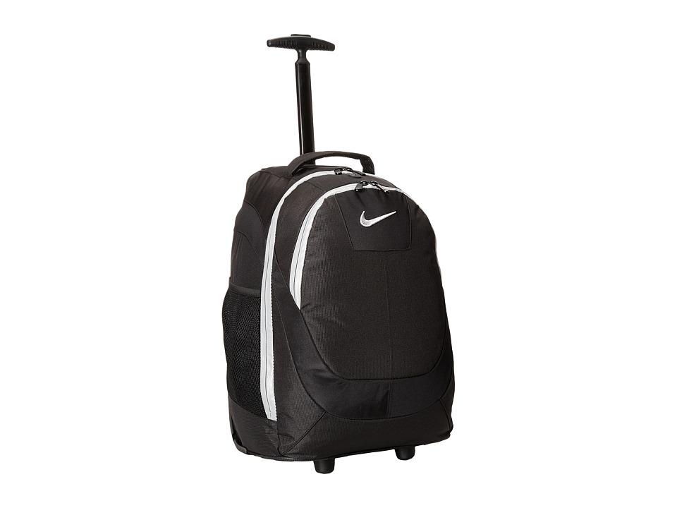Nike Kids - Rolling Backpack (Black/Silver) Backpack Bags