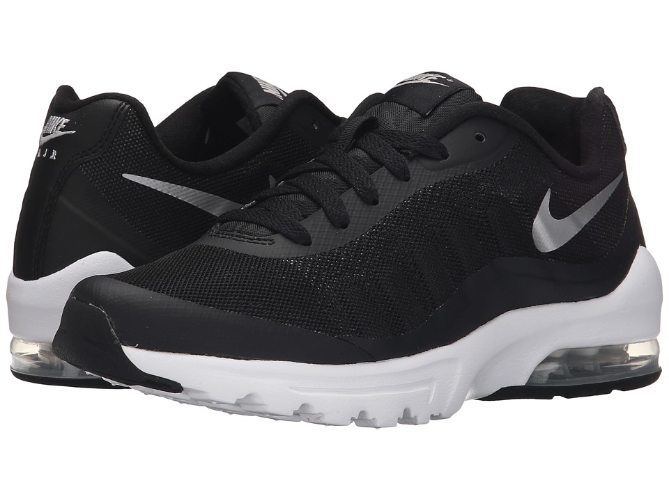 Nike - Air Max Invigor (Black/White/Metallic Silver) Women's Classic Shoes