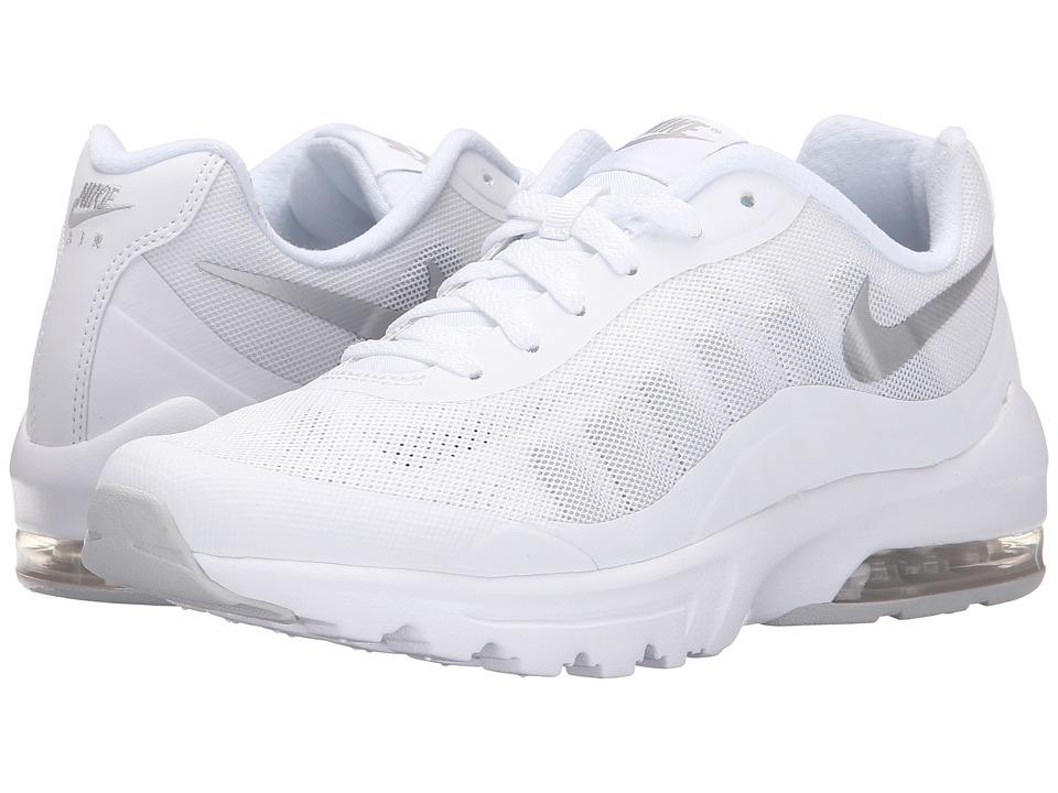 Nike - Air Max Invigor (White/Metallic Silver) Womens Classic Shoes