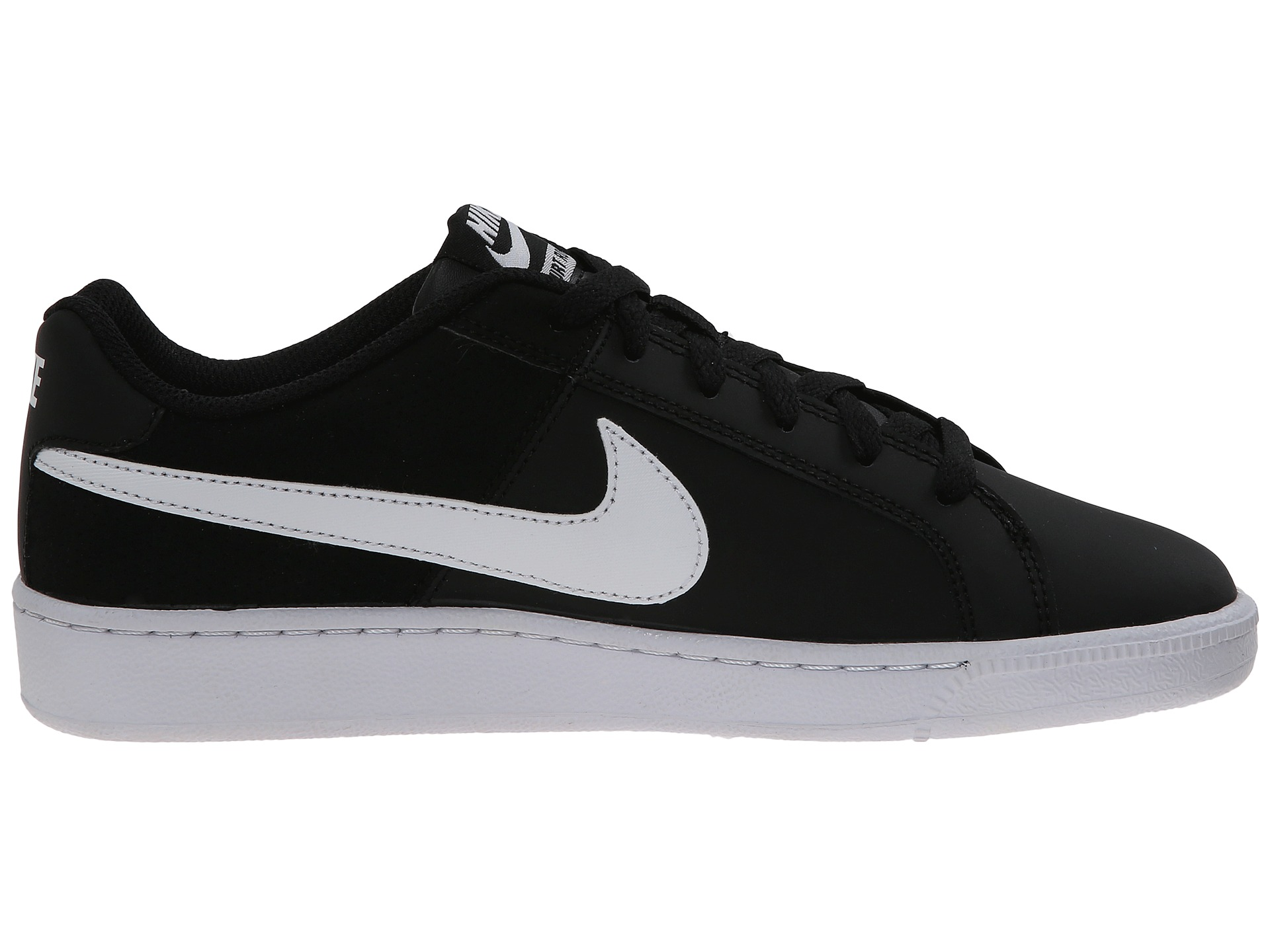 Black Suede Court Shoes Nike