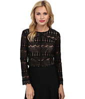 Bardot - Lace Panel Top