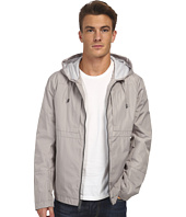 Marc New York by Andrew Marc - Brendan - City Rain Tech Hooded Zip Front Open Bottom