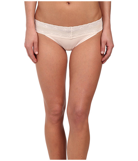 Natori - Bliss Perfection Thong (Caf  ) Women's Underwear