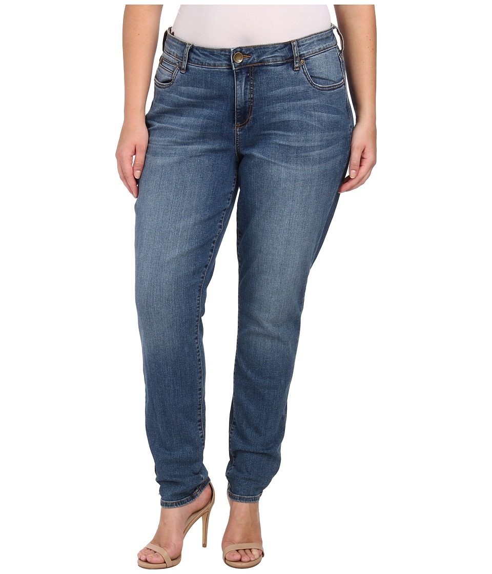 KUT from the Kloth Plus Size Diana Skinny Jeans in Contingent Contingent Womens Jeans
