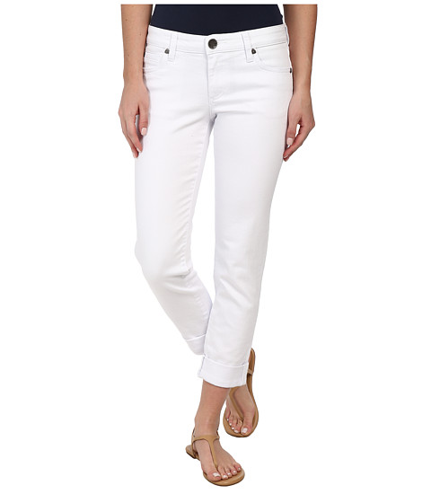 KUT from the Kloth - Catherine Boyfriend (White) Women's Jeans