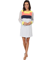 BCBGMAXAZRIA - Cally Color Blocked Dress
