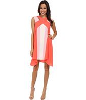 BCBGMAXAZRIA - Chantal Crossover Neckline Dress