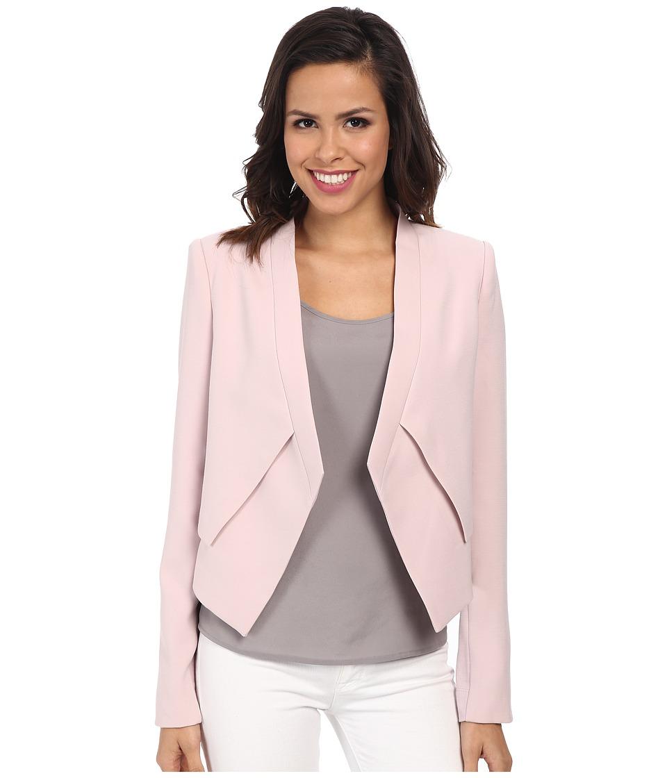 BCBGMAXAZRIA Lloyd Easy Layered Jacket (Lavendar Mist) Women's Coat