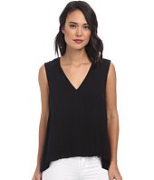 BCBGMAXAZRIA - Eliza Sleeveless Top with Back Cowl
