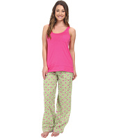 Jane & Bleecker - Jersey Tank Top & Batiste Pants Set 352940