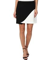 BCBGMAXAZRIA - Kiri Contrast Petal Mini Skirt