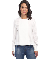BCBGMAXAZRIA - Terri Long Sleeve Zip Front Shirt