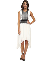 BCBGMAXAZRIA - Adelyn Sleeveless Dress with Pleated Skirt