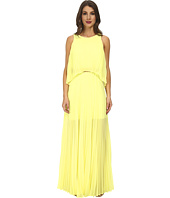 BCBGMAXAZRIA - Shaina Sleeveless Pleated Gown