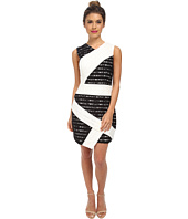 BCBGMAXAZRIA - Dalia Sleeveless Dress with Asymmetric Hem