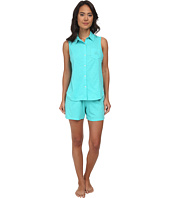 LAUREN by Ralph Lauren - Essentials Sleeveless Boxer PJ Set