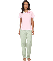 LAUREN Ralph Lauren - Garden Party Knit Top with Woven Pants PJ Set