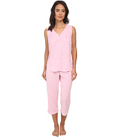 LAUREN by Ralph Lauren - Goa Sleeveless Striped Capri PJ Set