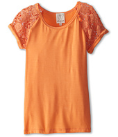 Ella Moss Girl - Primrose Short Sleeve Raglan Top (Big Kids)