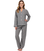 P.J. Salvage - B/W Checkered Print PJ Set