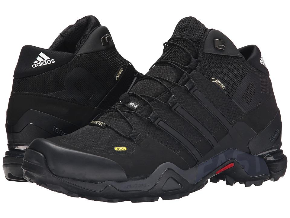 adidas Outdoor Terrex Fast R Mid GTX (Black/Dark Grey/White) Men