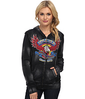 Affliction - AC Eagle Clutch Long Sleeve Zip Hoodie
