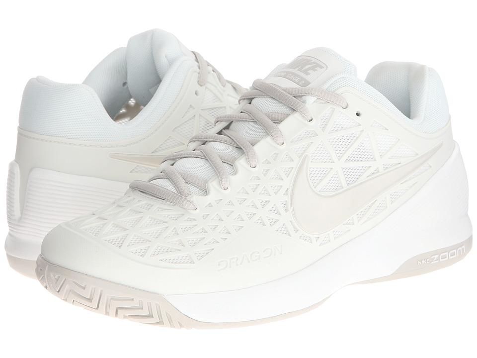 Nike Zoom Cage 2 (Summit White/Light Bone) Women