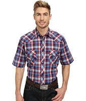 Roper - 9743 Blue & Red Plaid with Blue Lurex
