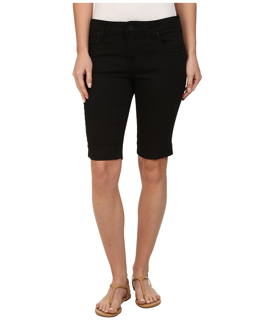KUT from the Kloth - Natalie Twill Bermuda (Black) Womens Shorts