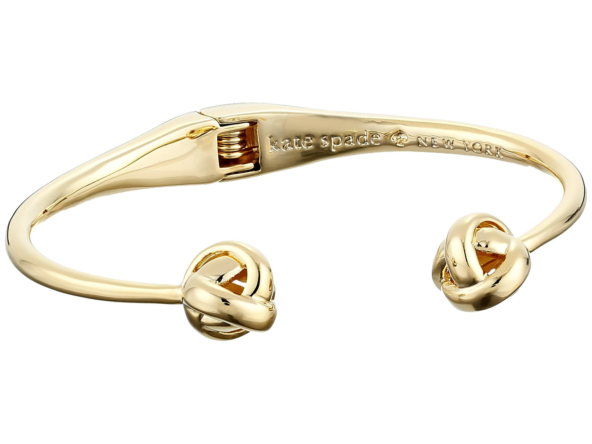 Kate Spade New York Dainty Sparklers Knot Cuff Bracelet At Luxuryppos