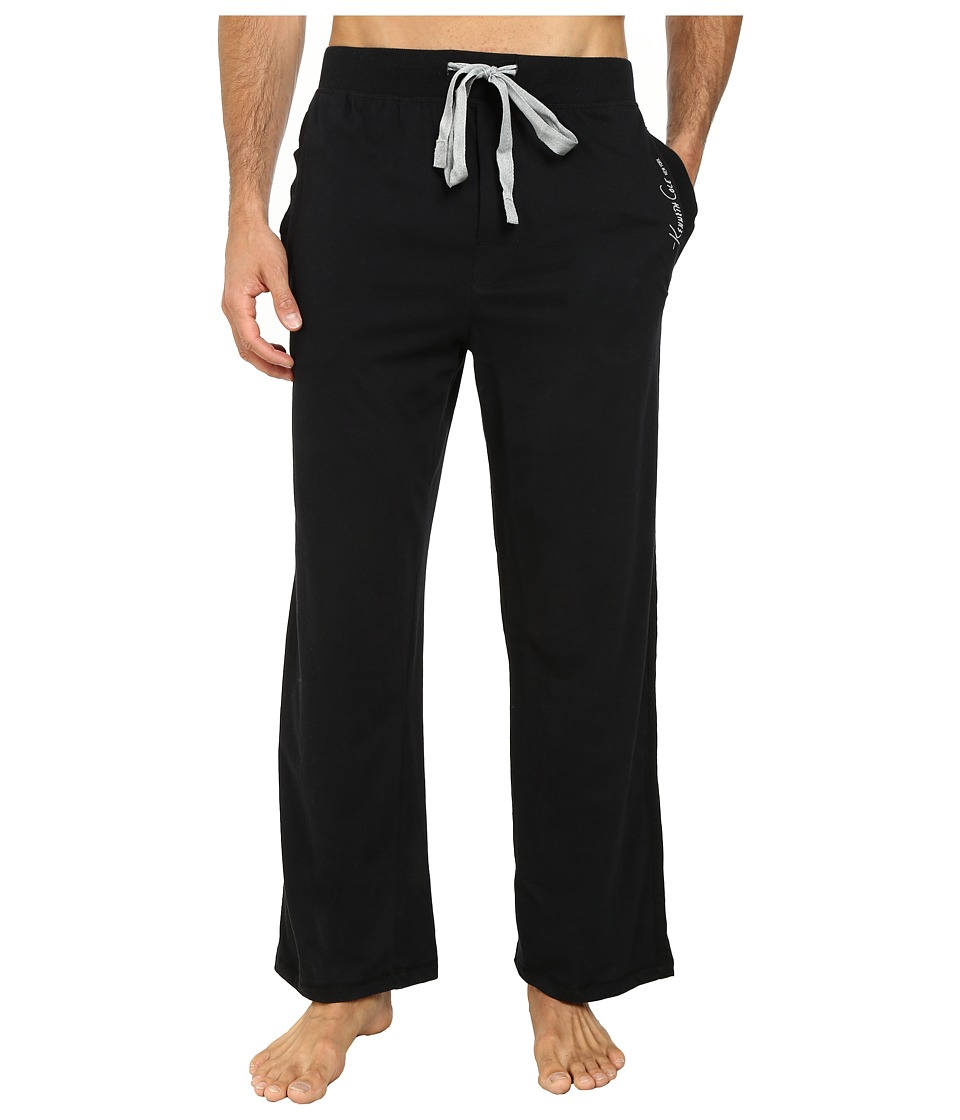 Kenneth Cole Reaction - Basic Pants (Black) Mens Pajama