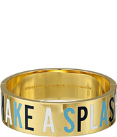 Kate Spade New York - Idiom Bangles Everything's Going Swimmingly Bracelet - Hinged