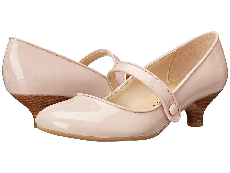 Gabriella Rocha - Ginger Blush Patent Womens Maryjane Shoes $65.00 AT vintagedancer.com