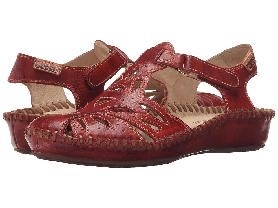 Pikolinos Puerto Vallarta II 655 8312L Sandia Womens Hook and Loop Shoes