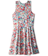 Splendid Littles - Abstract Floral Dress (Big Kids)