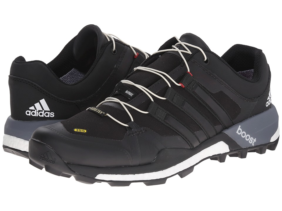 adidas Outdoor - Terrex Boost GTX (Black/White/Vista Grey) Men
