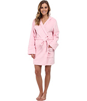 P.J. Salvage - Pink Robe w/ Rhinestone Lily Applique