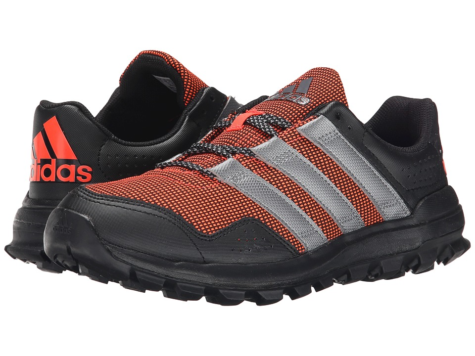 adidas Running Slingshot Trail Solar Red/Granite/Black Mens Shoes
