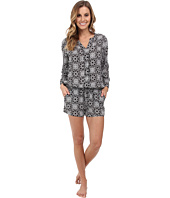 P.J. Salvage - Challe Chic Black Sleep Romper