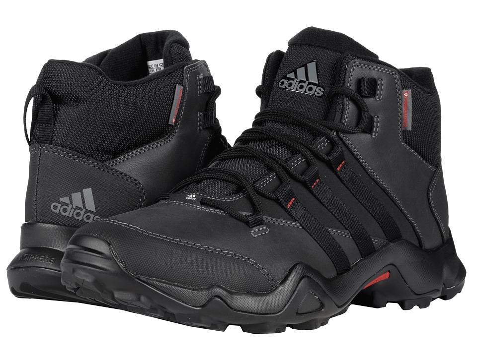 adidas Outdoor - CW AX2 Beta Mid (Black/Vista Grey/Power Red) Men