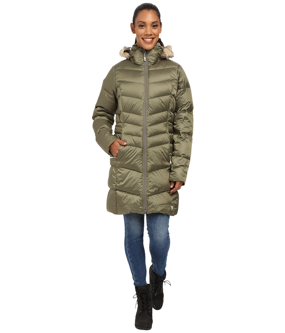 Mountain Hardwear Downtowntm Coat (Stone Green) Women
