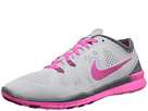 Nike Free 5.0 Tr Fit 5 Breathe (Pure Platinum/Cool Grey/Pink Pow/Fireberry)